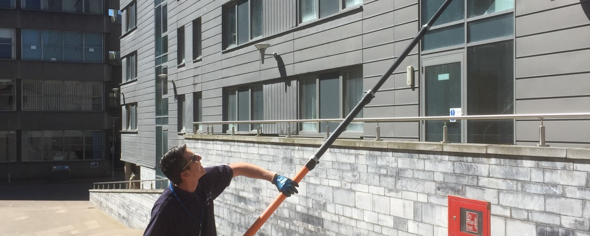 window cleaning in plymouth